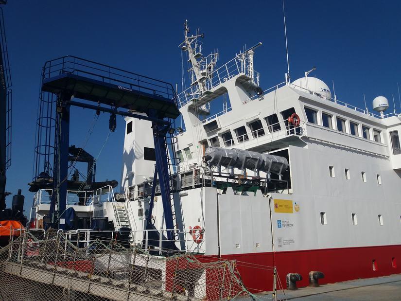 El Sarmiento de Gamboa navega ya rumbo a Punta Arenas