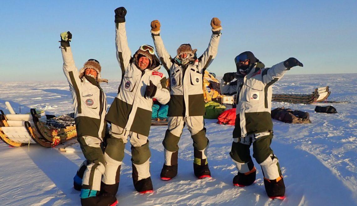 Antártida Inexplorada: la hazaña del Trineo de Viento